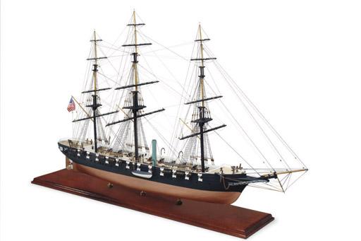 A model of the U.S.S. Hartford