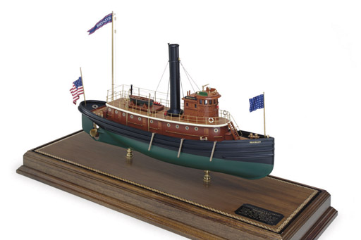 A model of the New York Harbor
