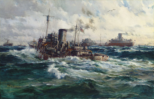 North Atlantic convoy, the escort