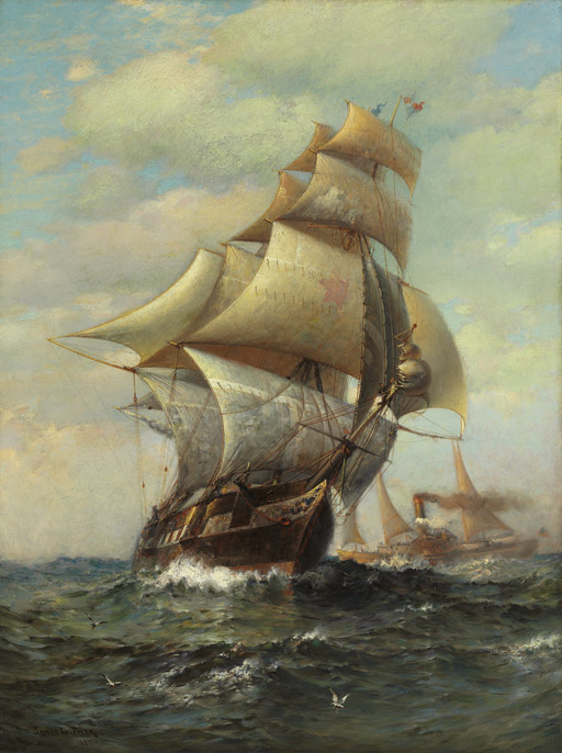 Sails & Steam, 1888