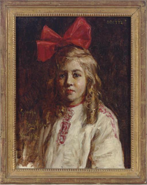 Portrait study of Odette