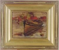 Boat (recto); Landscape (verso)
