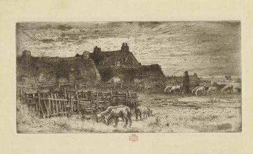 FELIX BUHOT (1847-1898)