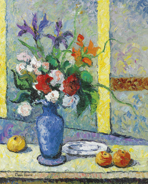 Le bouquet au vase bleu