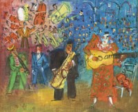 Les clowns musiciens
