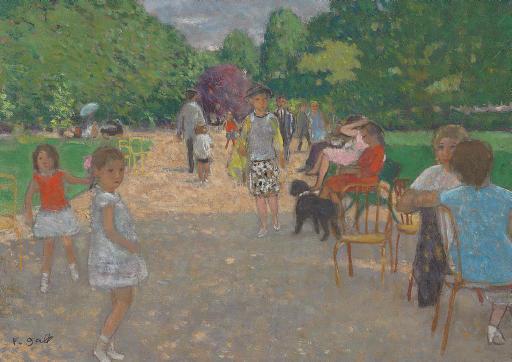 Aprés-midi d'enfants au Parc Monceau