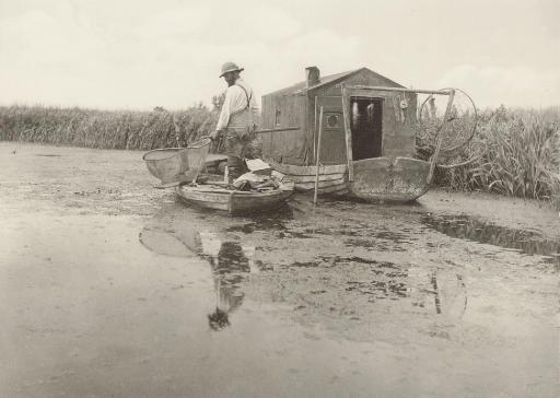 An Eel Catcher's Home, 1886