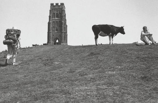 Glastonbury Tor, 1976; and Stonehenge, 1973