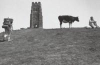 Glastonbury Tor, 1976; and Stonehenge, 1973