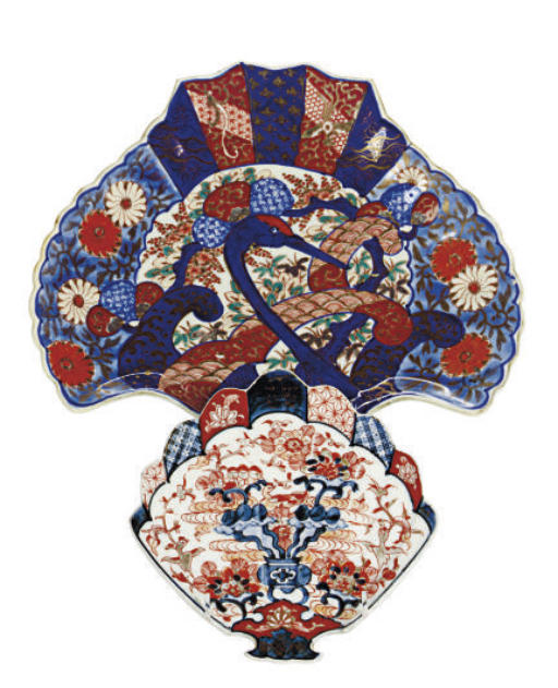 A GROUP OF TEN JAPANESE IMARI