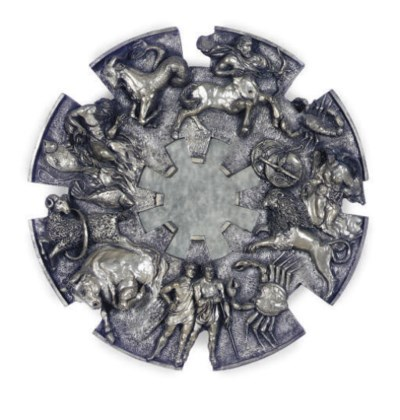 A SILVERED-COMPOSITION MIRROR,