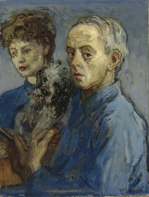The Artist and His Wife