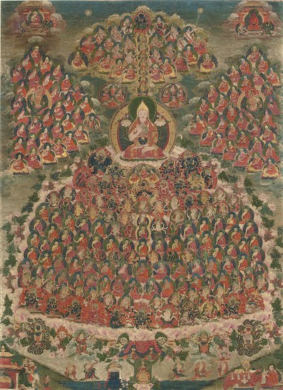 A Thangka of a Field of Accumu
