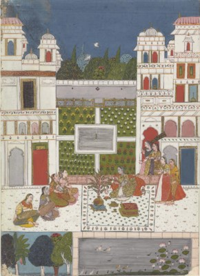 An Illustration from a Ragini: