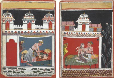 Two Paintings of Royal Couples