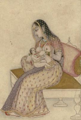A Lady Breastfeeding an Infant