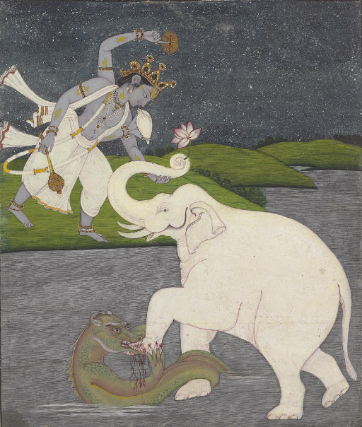 An Illustration from the Bhaga