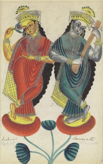 Krishna Asking Pardon of Radhi