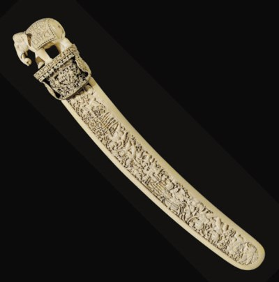 **An Ivory Ceremonial Blade