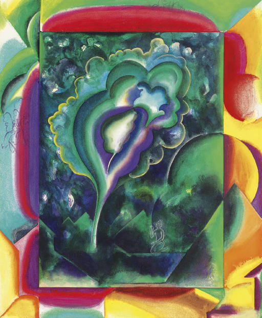 GULAM MOHAMMED SHEIKH (B. 1937)