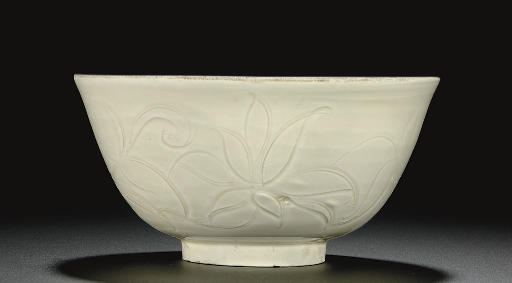 A DINGYAO CARVED BOWL
