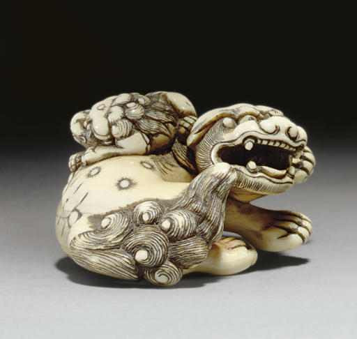 Two Kyoto School Netsuke and a