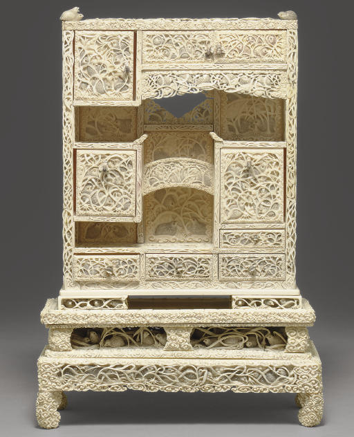 An Ivory Cabinet**