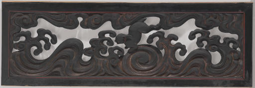 A Wood Architectural Transom (