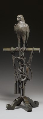 A Bronze Model of a Tethered H