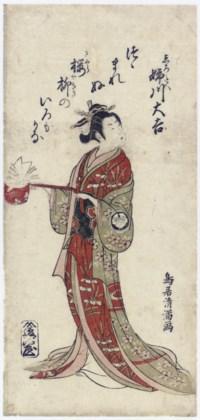 Torii Kiyomitsu (1735-1785)