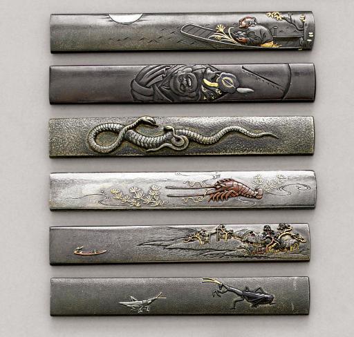 A Silver Kozuka, Two Nara Scho