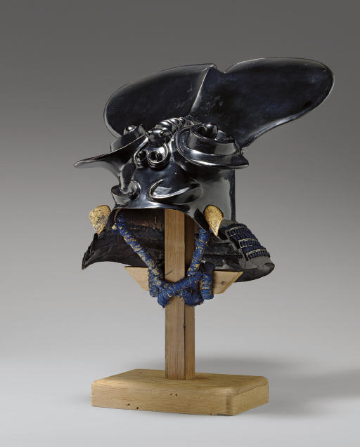 A Kawari Kabuto (Eccentrically
