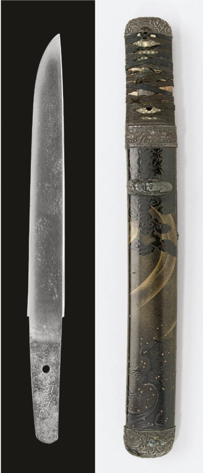 A Tanto in Black and Gold Aiku