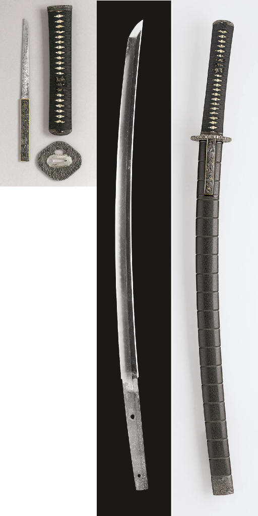 A Bitchu Wakizashi in Black La