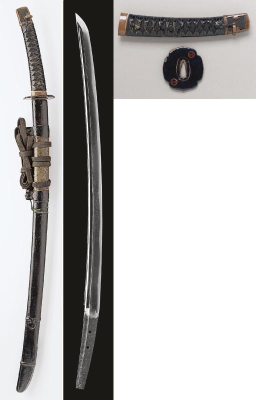A Wakizashi in Black Lacquer T