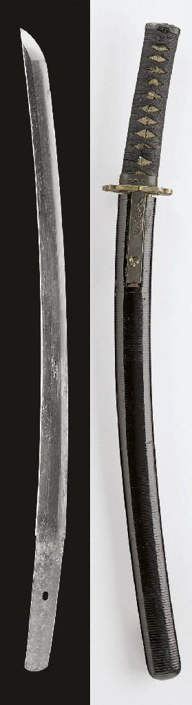 A Wakizashi in Black-Lacquer R