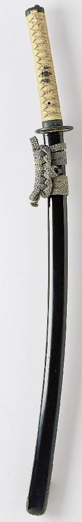 A Black-lacquer Koshirae