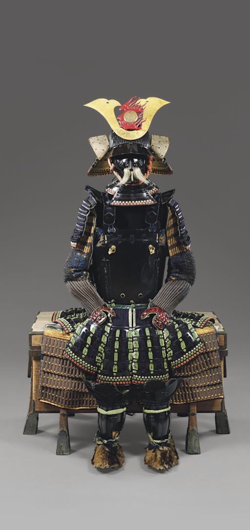 A Yuki no Shita Suit of Armor