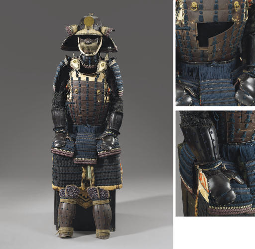 A Yokohagi Do Gusoku Suit of A