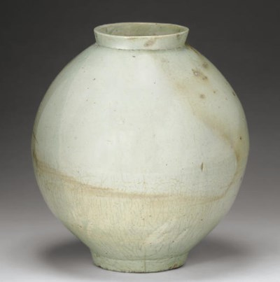 A Porcelain Moon Jar