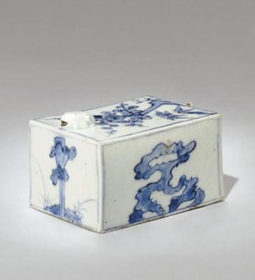 A Blue and White Porcelain Rec