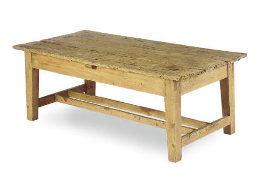 AN AMERICAN PINE LOW TABLE,