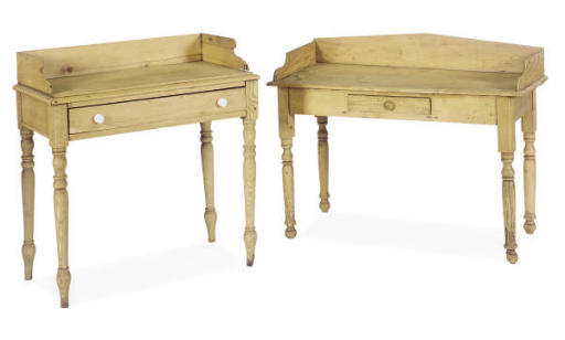 TWO PINE LOW WASH STANDS,
