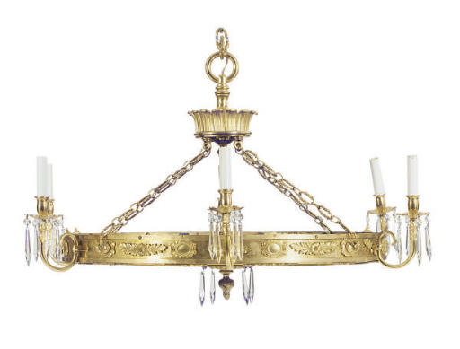 A BALTIC-STYLE GILT BRONZE AND