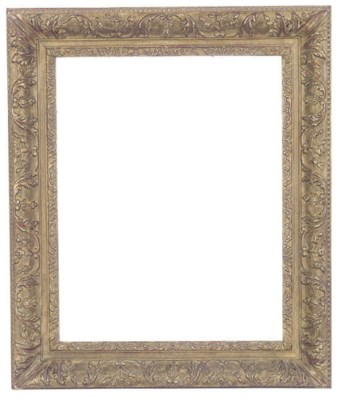 TWO GILTWOOD FRAMES,