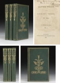 "[DICKENS, Charles]. Oliver Twist; or, the Parish Boy's Progress. By ""Boz."" London: Richard Bentley, 1838."