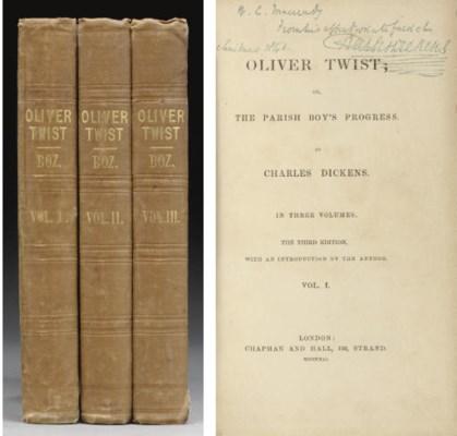 DICKENS, Charles. Oliver Twist