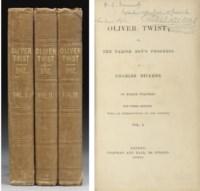 DICKENS, Charles. Oliver Twist; or, The Parish Boy's Progress. London: Chapman and Hall, 1841.