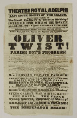 [OLIVER TWIST]. THEATRE ROYAL,