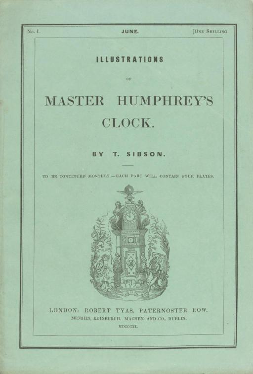 [MASTER HUMPHREY'S CLOCK]. SIB